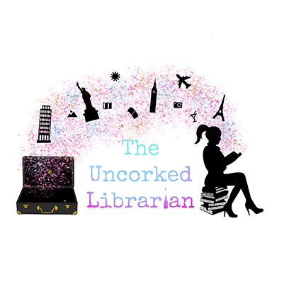 The Uncorked Librarian Logo
