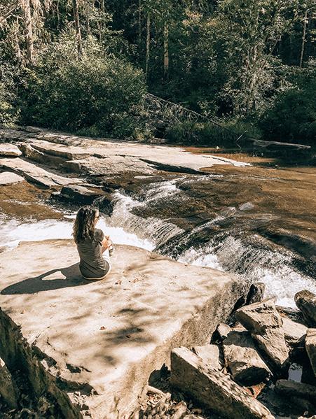 Fall Activities near Asheville Hooker Falls at DuPont