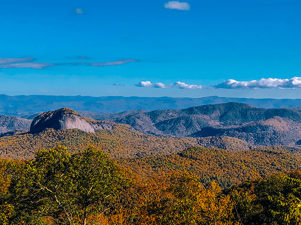 Looking Glass Rock From Blue Ridge Parkway