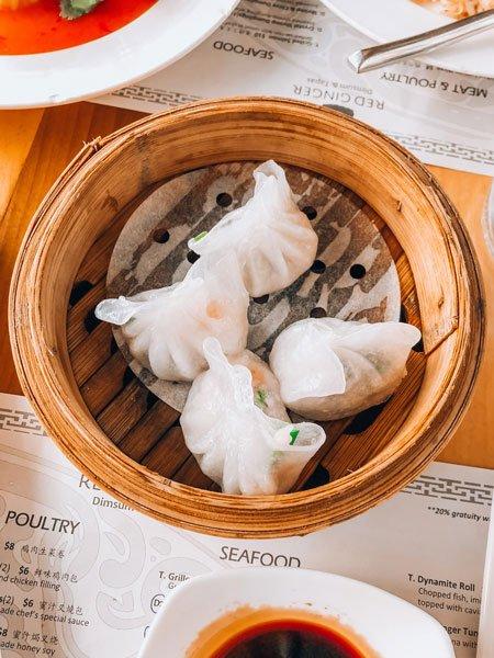 Dumpling at Red Ginger Dim Sum and Tapas