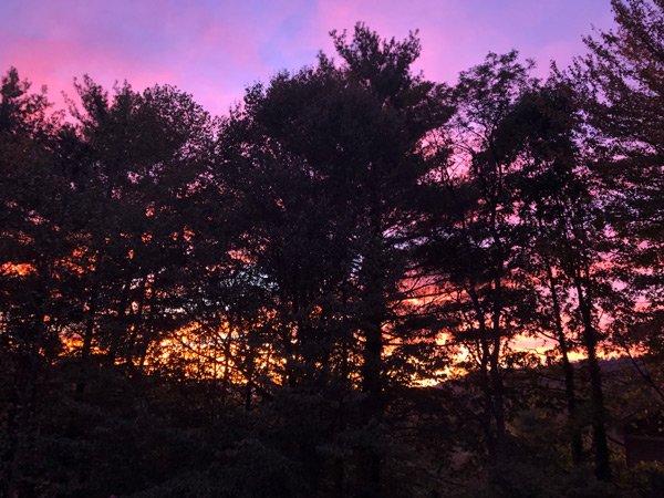 Asheville NC Sunset