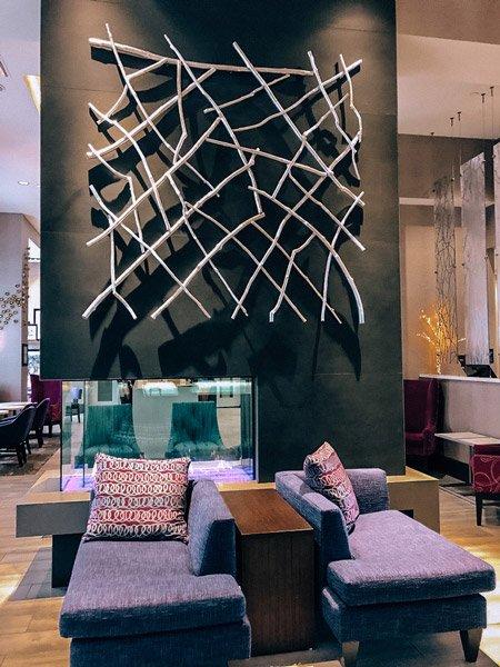 Hampton Inn and Suites Biltmore Brevard Rd Lobby