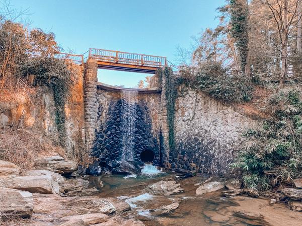 Biltmore Estate Waterfall