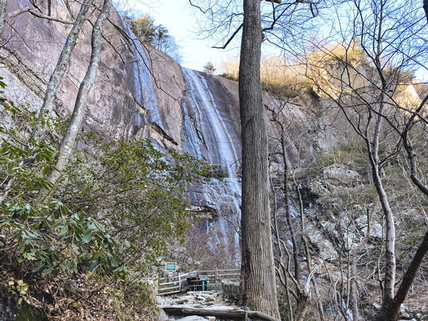 Hickory Nut Falls At Chimney Rock State Park