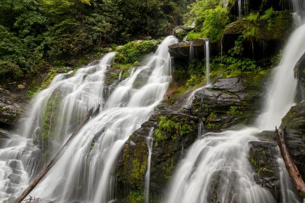 Waterfalls Near Asheville Catawba Falls