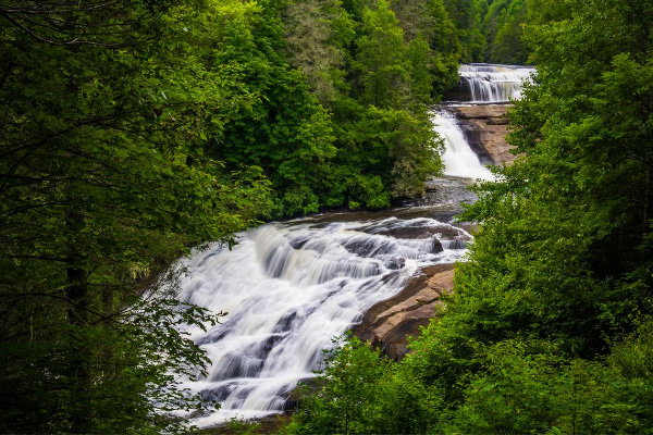 Triple Falls DuPont Forest Waterfall Hikes