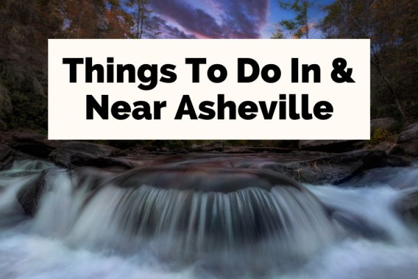 Asheville Attractions And Activities Hooker Falls at DuPont Forest