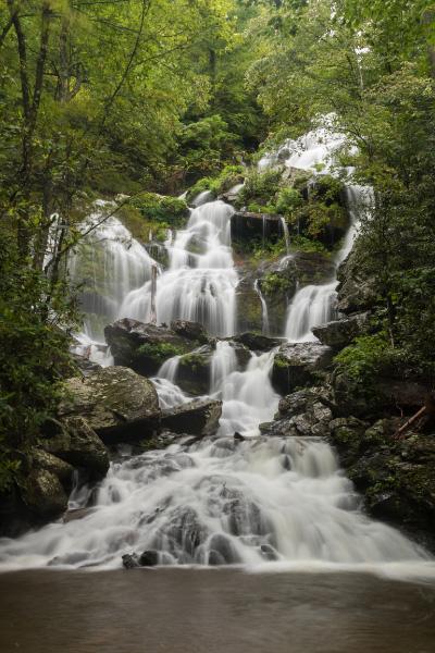 Catawba Falls Near Asheville NC