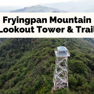 Mesmerizing Views At Fryingpan Mountain Lookout Tower & Trail