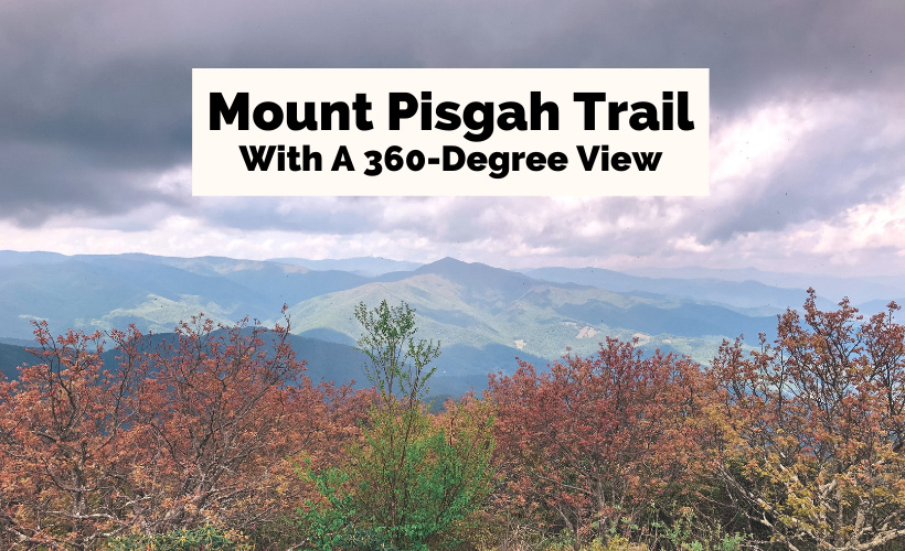 Mount Pisgah Trail and Hike North Carolina 360-degree view from the summit