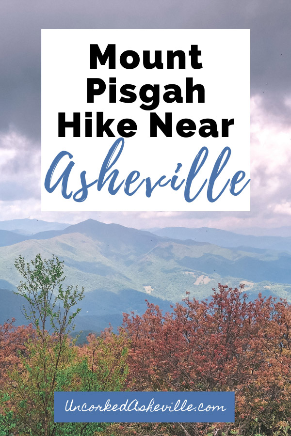 Mt. Pisgah Hike Near Asheville NC with Mount Pisgah summit 360-degree view from observation deck