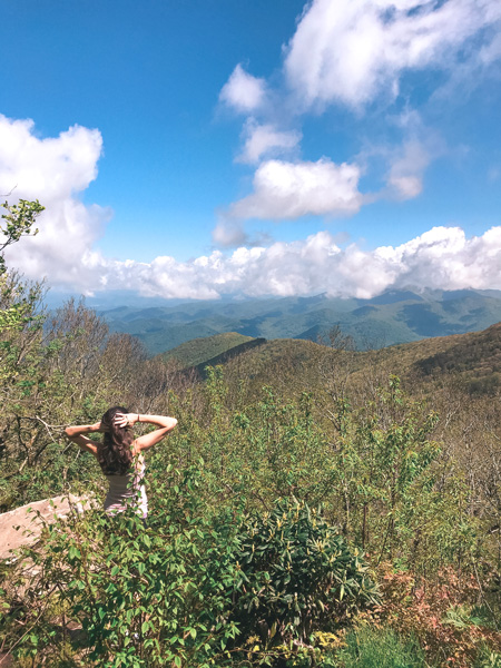 Craggy Gardens Hiking In Asheville, NC