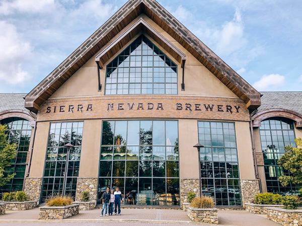Sierra Nevada Brewery NC building