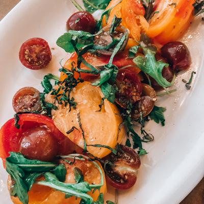 Asheville Proper tomatoes side dish