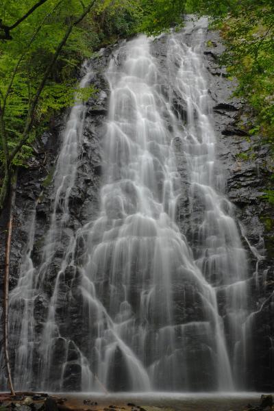 Crabtree Falls Blue Ridge Parkway waterfall