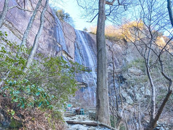 Hickory Nut Falls Chimney Rock