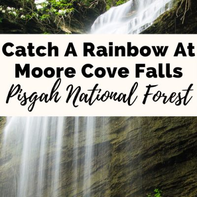 Moore Cove Falls: Catch A Rainbow On This Easy Trail